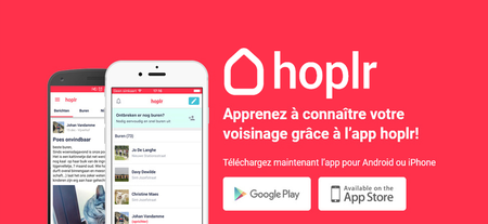 Hoplr - L'application de voisinage débarque à Dour !!!