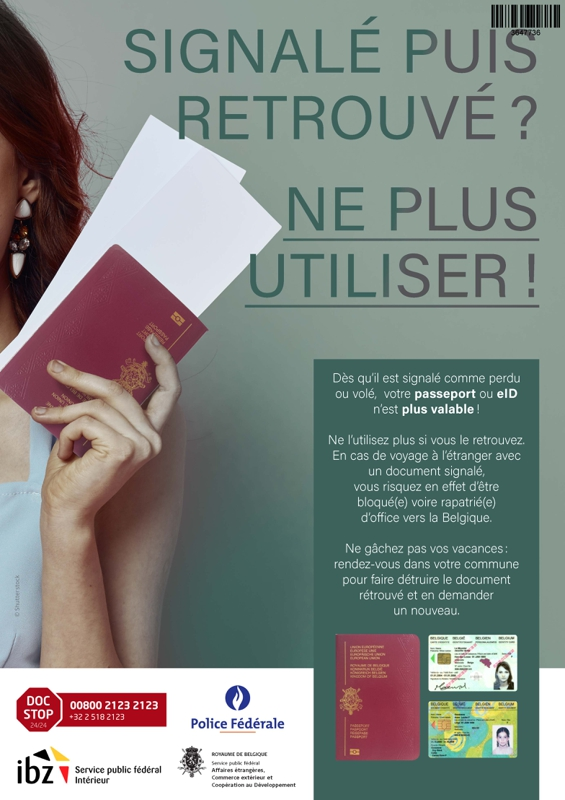 Poster passport FR