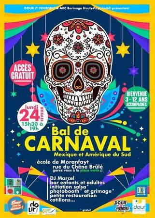 Bal de carnaval - Ecole de Moranfayt - 24 février 2020