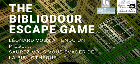 Escape game à la Bibliothèque de Dour