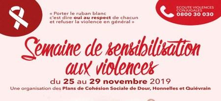 Semaine de sensibilisation aux violences