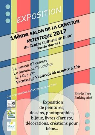 14ème Salon de la création artistique 2017