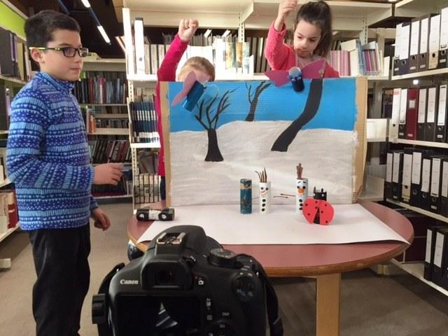 Atelier d'hiver 2017 : stop-motion