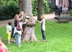 Les arbres qui lisent : une parenthèse enchantée dans le Parc de Dour