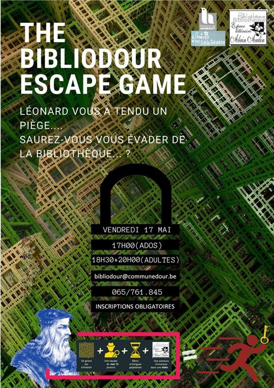 escape game affiche