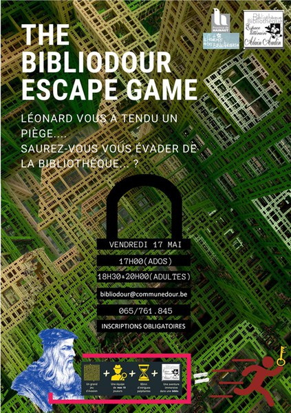 escape game affiche