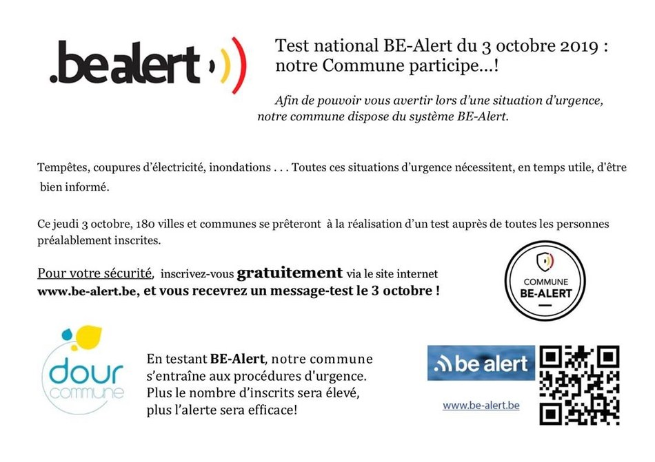 texte pour test bealert