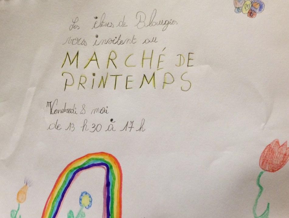 Marché aux fleurs invitation 2015