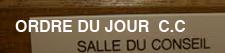 Raccourcis OrdreduJour